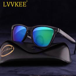 d1fe845484c 2018 NEW LVVKEE Brand design logo SPORT Driving men sunglasses women Color lenses  green blue uv400 Personality summer sun glass
