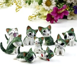 Wholesale New set Mini Cat Moss Micro Bonsai Garden Small Ornament Landscape Home Garden Decoration T2I123