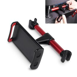 StandS for tabletS online shopping - 4 Inch Phone Tablet PC Car Holder Stand Back Auto Seat Headrest Bracket Support Accessories For Iphone Samsung Smart Phone