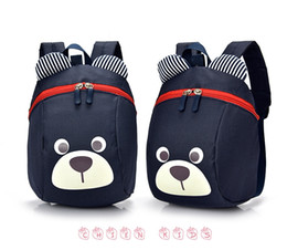 pink small dog bags NZ - Anti-lost Kids Baby Bag Cute Animal Dog Children Backpacks Kindergarten School Bag Aged 1-3 School Backpack