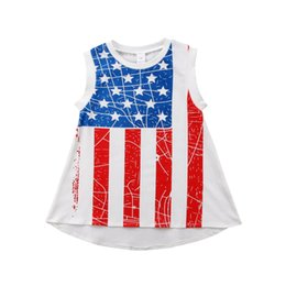 $enCountryForm.capitalKeyWord Canada - Fourth of July Toddler KidS Girls Princess Dress Summer Casual Holiday Party Sundress Independence Day Boutique Kid Girl Clothes