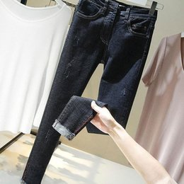 86d3d66a865 elastic ankle jeans for women 2019 - Skinny Slim Jeans for Woman High Waist  Pencil Pants