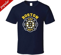 Fire Department NZ - Fashion Funny Tops Tees Boston Fire Department Rescue All sizes T-Shirt men t shirt Tops Tees