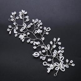 Crystal Heads Australia - 2018 bridal handmade crystal flower head dress wedding dress accessories hair band
