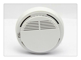 Fire Smoke Detectors NZ - Smoke detector Version White Home Security System Photoelectric Independent Smoke Detector Fire Alarm with