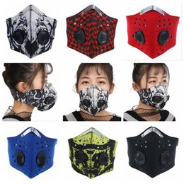 Face mask For bicycle online shopping - Anti Pollution Bicycle Mask Outdoor Sports Cycling Face Mask Filter For Bike Riding Traveling Cycling Masks OOA5044