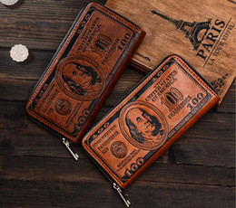 $enCountryForm.capitalKeyWord Australia - Men Wallet Long PU Wallet Purse Clutch with Card Holder for Men's Best Gift Men's pull bag clutch Wallet bag copper zip