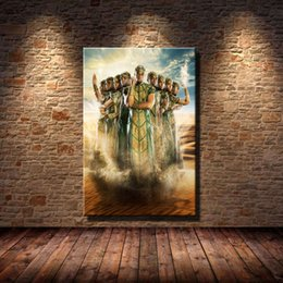 China Gods of Egypt Poster,Home Decor HD Printed Modern Art Painting on Canvas (Unframed Framed) suppliers