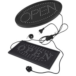 Electronics Signs UK - LED Open Sign for Business Displays: Light up Sign Open with 2 Flashing Modes | Electronic Lighted Signs for Shops, Hotels, Liquor Stores