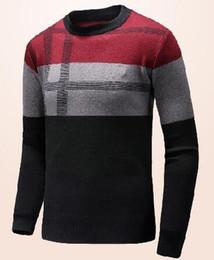 $enCountryForm.capitalKeyWord Canada - Deluxe Autumn Winter Fashion Clothing Men Sweaters O-Neck London Brit Men Pullover Cotton England British Knitted Sweater M-XXXL