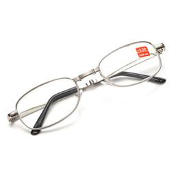 f8e93e6f0e54 Good Quality Full Metal Frame Glass Lenses Female Male Reading Age Glasses  Women Men Unisex Eyewear factory direct Wholesale