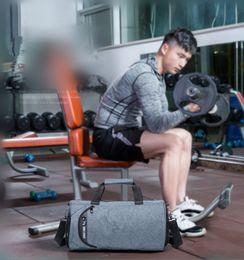 $enCountryForm.capitalKeyWord NZ - Men Travel Bag Black Polyester Travel Duffle Casual round bucket shoulder bag mens High quality Hand bag DHL Free Shipping