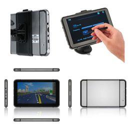 Gps Hd Australia - HD Newest 7 inch Car GPS Navigation FM 4GB Navigator Speedcam SAT NAV Navigation System POI Gray With Map