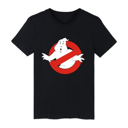 26d19bd7 Funny t shirts movies online shopping - 2017 Ghostbusters Movie Cotton T  shirt Men Short Sleeve