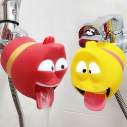 Faucet Kitchen Shower Australia - Faucet Extender Cartoon Kitchen Water Saver Baby Child Hand Washing Bathroom Sink Gift Shower Products Kid Washbasin Accessories