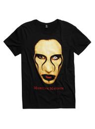 440776a2060a marilyn manson prints 2019 - Marilyn Manson Close Up T-Shirt Size Standart  USA