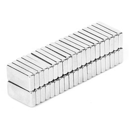 40Pcs set Industrial N42 Super Strong Permanent Square Rare Earth Neodymium Magnets Block Powerful Magnetic Bulk 10 x 5 x 2mm from magnets cylinders suppliers