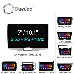 "car dvd player vw jetta Canada - Ownice C500+ Octa Core 10.1"" 9"" Android 6.0 Car Radio DVD player GPS CAR DVD For VW Magotan POLO PASSAT Golf 7 R GTE Tiguan Touran Jetta"