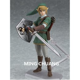 Link action figures online shopping - The Legend of Zelda link Figma Decoration PVC CM Action Figure Collectible Model Toy Christmas Present BOX Z91