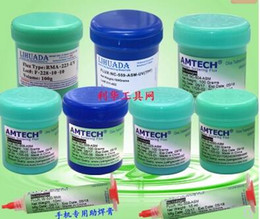 Laptop Cellphone NZ - ACH LIHUADA Welding Solder Consumables For Computer Repairing Laptop Motherboard Cellphone RMA-223-UV PCB BGA NC-559-ASM 228 200-Bu LR-51
