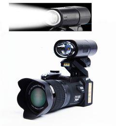 Professional Camera Wholesale Australia - PROTAX D7300 digital cameras 33MP Professional DSLR cameras 24X Optical Zoom Telephotos & 8X Wide Angle Lens LED Spotlight Tripod