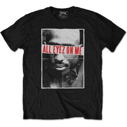T Shirts For Men NZ - Tupac Shakur 2Pac All Eyez On Me Rap Death Row Official Tee T-Shirt Mens T Shirt For Men Personality Short Sleeve Fashion Custom 3XL Couple