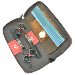 Barber Thinning Shears Australia - 6.0Inch Meisha Barbers JP440C Professional Left-Handed Cutting Scissors Thinning Shears Salon Hairdressers Hair Tijeras Set HA0379
