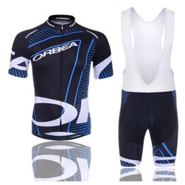 China Hot Sale ORBEA Team Blue Cycling Jersey Set Cheap Custom Cycling Wear for Men Cycling Clothing with Shorts Sets suppliers