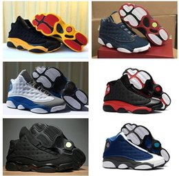 2f0a783cde7 Top Quality Love Respect Game Denim LS Blue Jeans 13s black cat Hyper Royal  Chicago mens basketball shoes XIII 13 mans sports Sneakers