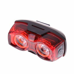 Bike light kits online shopping - 2 LED Bright Bike Tail Light Rear Lamp Bicycle Cycling Flash Light Torch Safety Kits Bicycle Back Rear Light with Clip Mount set