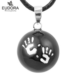 $enCountryForm.capitalKeyWord Australia - Baby Caller Pregnancy Chime Ball Harmony Pendant Necklace Mexican Bola Eudora Harmony Ball Sounding Bell Pregnant Women Gift