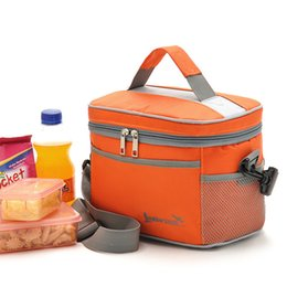 Picnic Ice Packs Australia - Insulation Picnic Bags Thermal Insulation Cooler Lunch Box Bag Fresh Keeping Ice Beer Pack Fruit Container