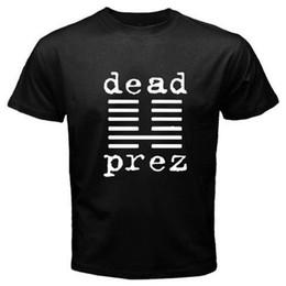 $enCountryForm.capitalKeyWord Canada - T-Shirt Casual Short Sleeve For Men Clothing Summer New Dead Prez Rap Hip Hop Music Logo Men's Black T-Shirt Size S To 3XL