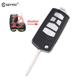 $enCountryForm.capitalKeyWord Australia - KEYYOU 10PCS LOT 5 Buttons Modified Flip Remote Key Case Shell For Kia Sedona Mini Van Car Key Cover Case KEYYOU 10PCS LOT 5
