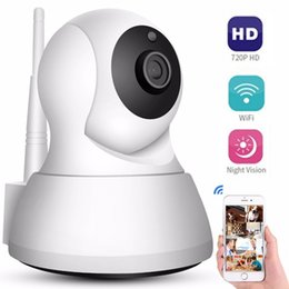 Cctv Wifi Ip Australia - Security IP Cameras WiFi 720P Home Mini Wireless Network Surveillance CCTV Camera 360 degree Night Vision Baby Monitor