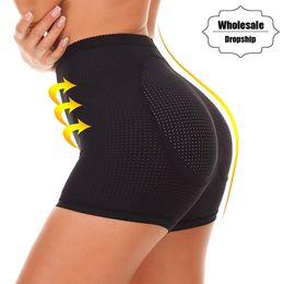 128ee53c8c2 NINGMI Women Fake Buttock Briefs Butt Lifter Padded Control Panties Sealess Hip  Enhancer Sexy Underwear Boyshort Hot Body Shaper