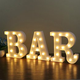 Xsky 26 Alphabet Lamp Letter Led Night Lights Marquee Sign For Bedroom Birthday Wedding Expression Party Wall Hanging Decoration Buy Now Lights & Lighting