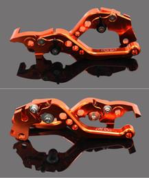 Wholesale Aluminum Short Brake Clutch Levers for KTM DUKE 125 200 DUKE 390