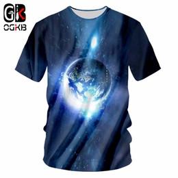 $enCountryForm.capitalKeyWord NZ - OGKB Galaxy Space Printed 3d Tshirt Men Summer Tops Hiphop O Neck Punk T Shirt Man Bodybuilding Fitness Workout Casual T-shirts