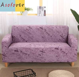 $enCountryForm.capitalKeyWord NZ - Pure Color Purple Sofa Cover Elastic Sofa Slipcover Stretch Furniture Covers Protector Sofa Covers For Living Room Couch