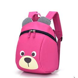 3be185a32 NUEVO Lindo Pequeño Oso Mochila Infantil de Dibujos Animados Precioso  Animal Mochilas escolares Para Niños Niñas Bolsa de Jardín de Infancia  Bolsas de Bebé ...