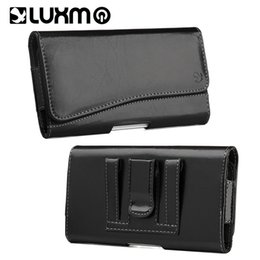 China Retro Vintage Wallet Holster Leather Money Pouch Waistband Bag Waist Pocket Universal for iPhone Samsung OPPO Huawei Phone Black Brown Cover suppliers