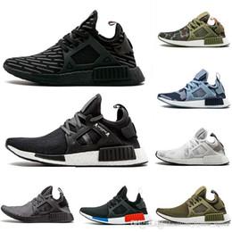 51e3e13da48b5 2018 New Original NMD XR1 PK Running Shoes Cheap R1 NMD XR1 Runner japan Primeknit  OG PK Human Race Black White Men Women Casual Sneakers