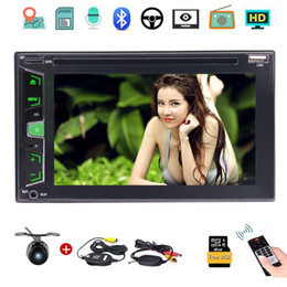 """Discount double din dvd gps - Wireless Camera+6.2"""" Double DIN Car Stereo GPS Nav BT MP3 Audio Video DVD CD Player FM AM RDS Radio USB AUX-in Subw"""