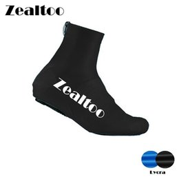 Lycra Sports NZ - Zealtoo Lycra Bicycle Dustproof Cycling Overshoes Unisex MTB Bike Cycling Shoes Cover Sports Accessories Riding Pro Road Racing Shoe Covers