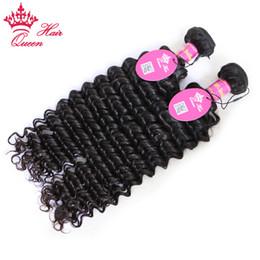 $enCountryForm.capitalKeyWord Canada - Queen Hair Products Brazilian Curly Virgin 2pcs Free Shipping,Deep Wave Virgin Can Be Dyed Brazilian Human Hair Extension