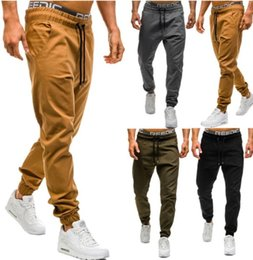 $enCountryForm.capitalKeyWord Australia - 2018 Men Fashion Spring and Summer Casual Tie Their Burdens Tight Pants Sports Pants for Men
