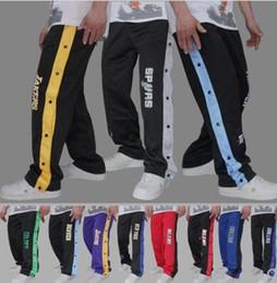 dc68ec9f298 Pantalon de basket-ball à ouverture totale Pantalon de basket-ball Pantalon  de spectacle pour hommes Le pantalon de sport pour hommes s échauffe avant  le ...