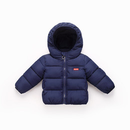 children jackets boys UK - Children Winter Jackets New 2018 Autumn Winter Kids Girls Boys Down Parkas Hooded Outwear for Baby Christmas Clothing