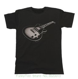 Amp Electric Guitars UK - Electric Guitar Unisex Fit T-shirt Mens & ; Ladies Music Instrument Festival Band
